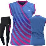 Uniforme running mujer auburn
